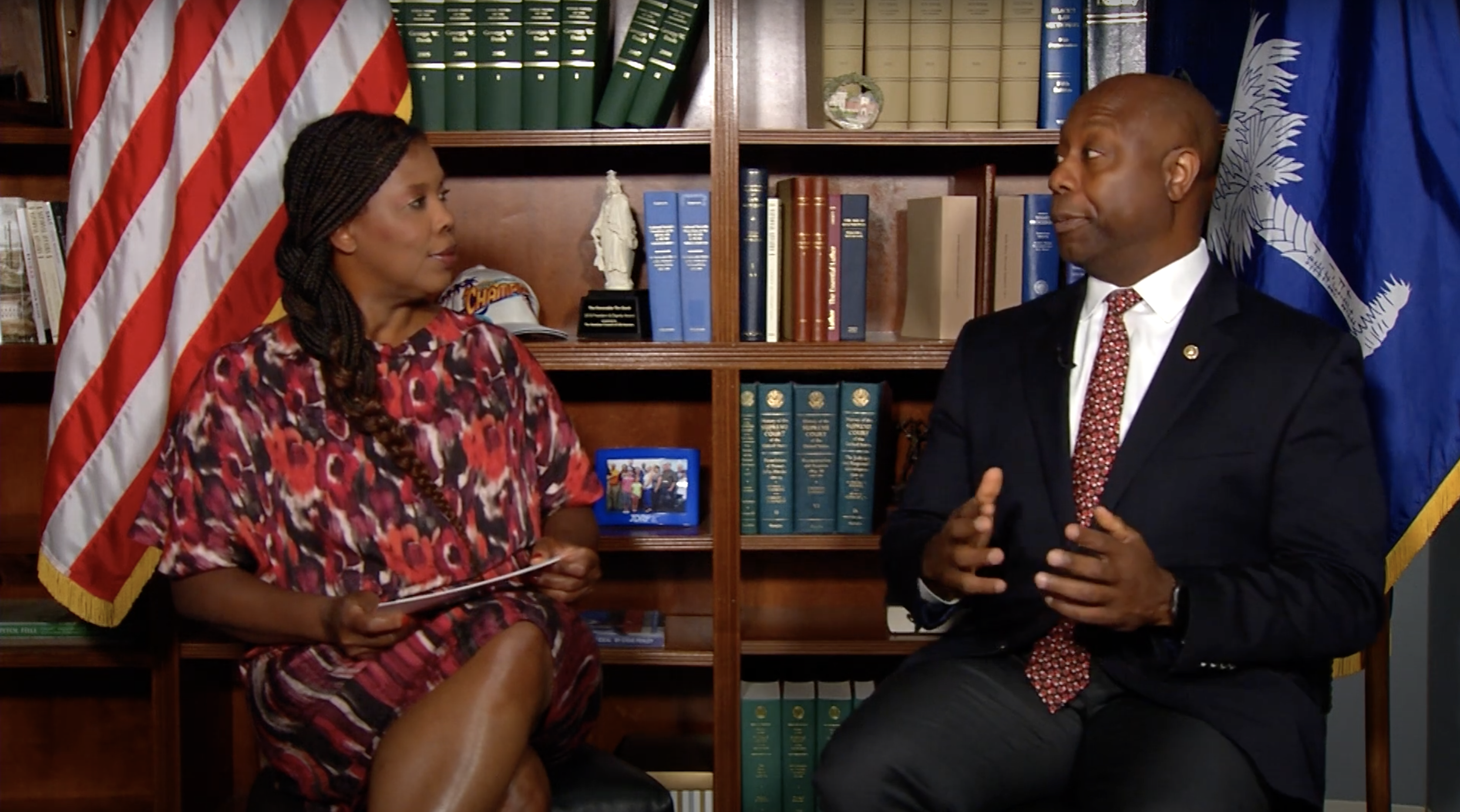 CURE Exclusive: Star Parker Interviews Senator Tim Scott